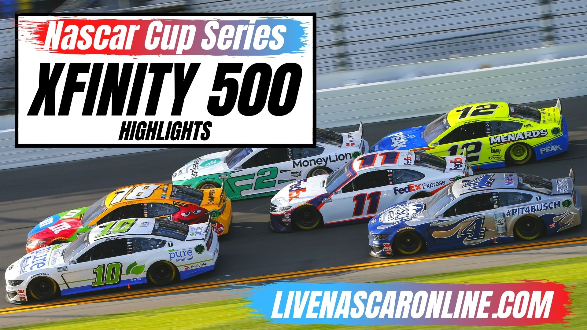 Xfinity 500 Highlights 2020 NASCAR Cup Series