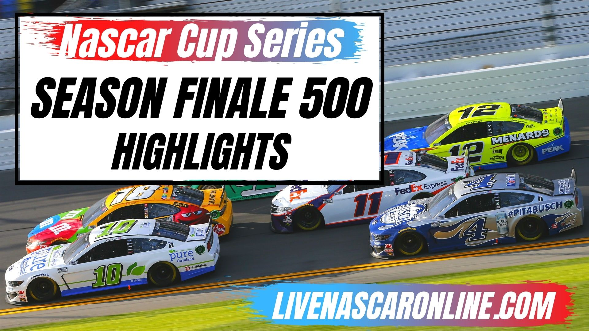 Season Finale 500 Highlights 2020 Cup Series
