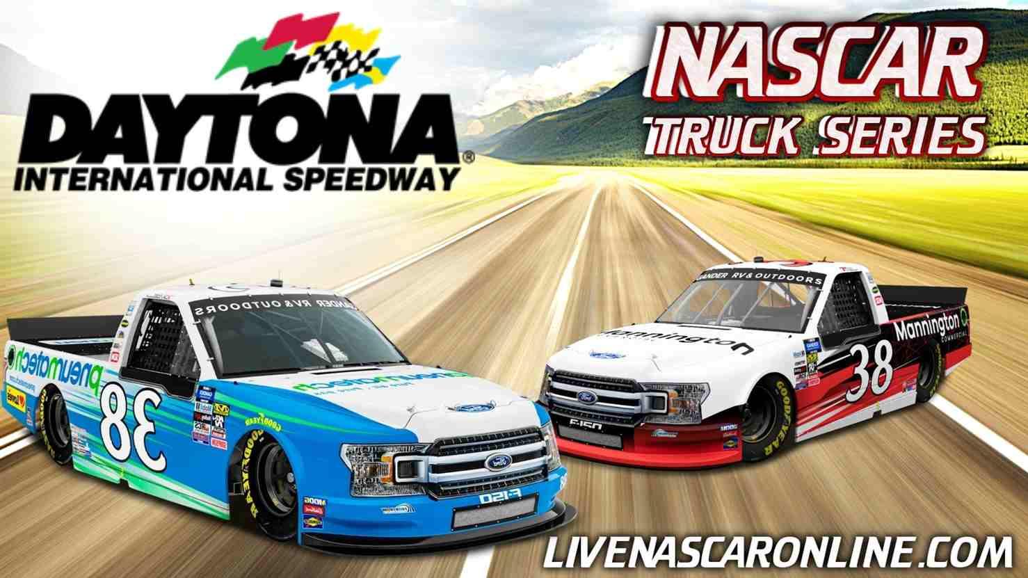 NASCAR Truck Race at Daytona Live Stream 2021