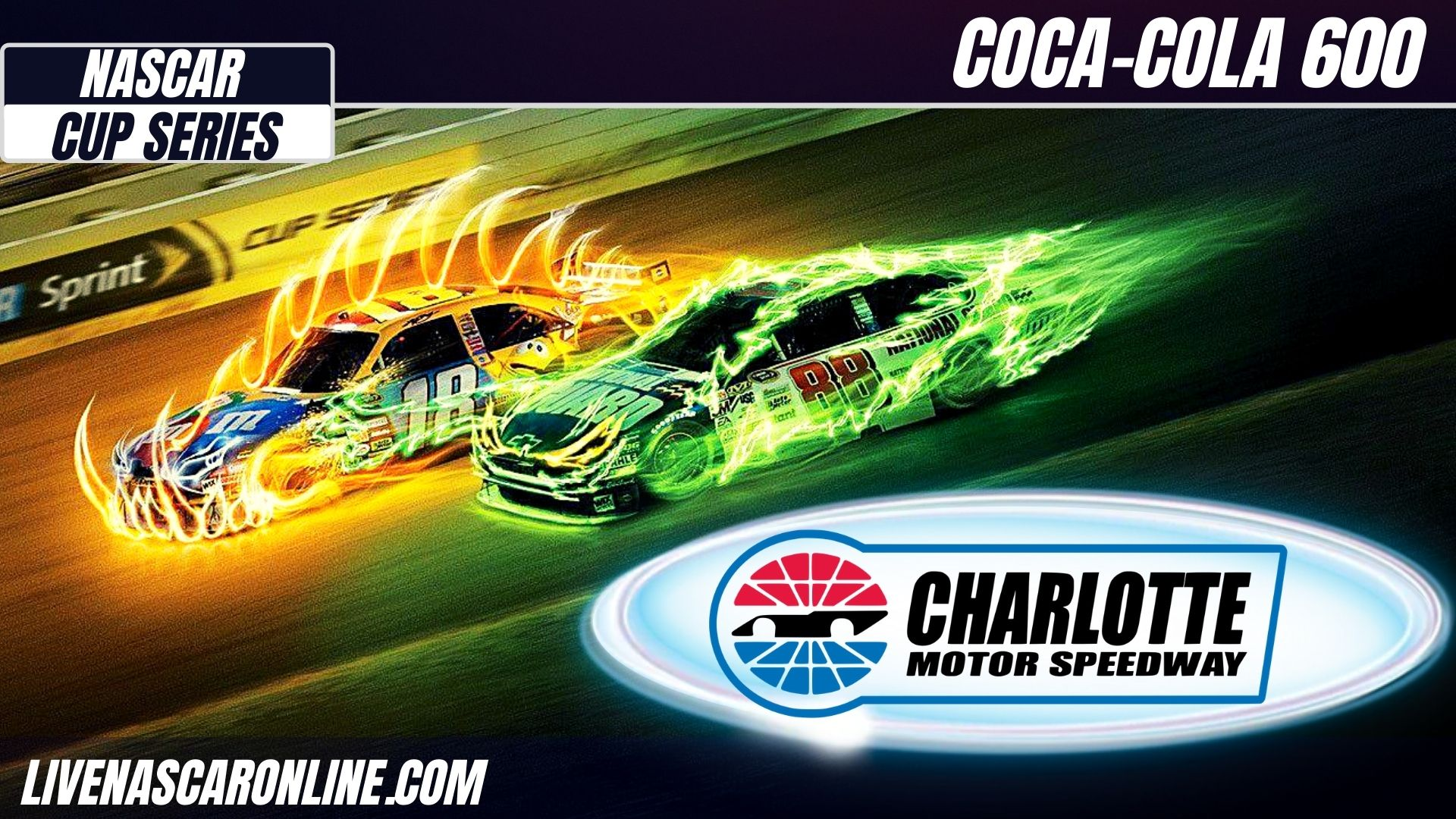 Coca-Cola 600 at Charlotte Live Stream 2021