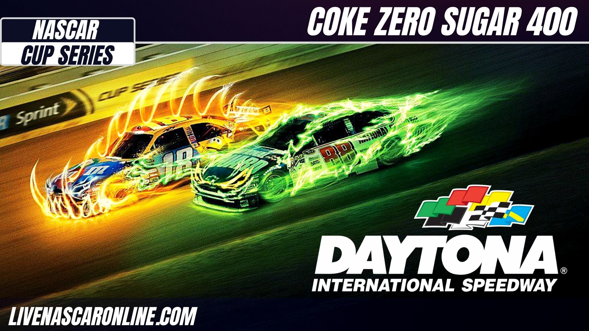 Coke Zero Sugar 400 Live Stream 2021
