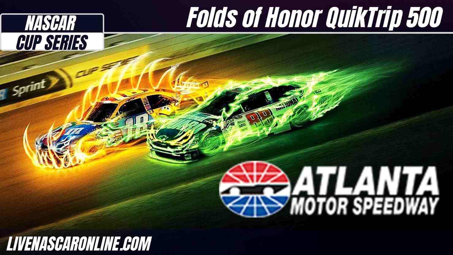 Folds of Honor QuikTrip 500 at Atlanta Live Stream 2021