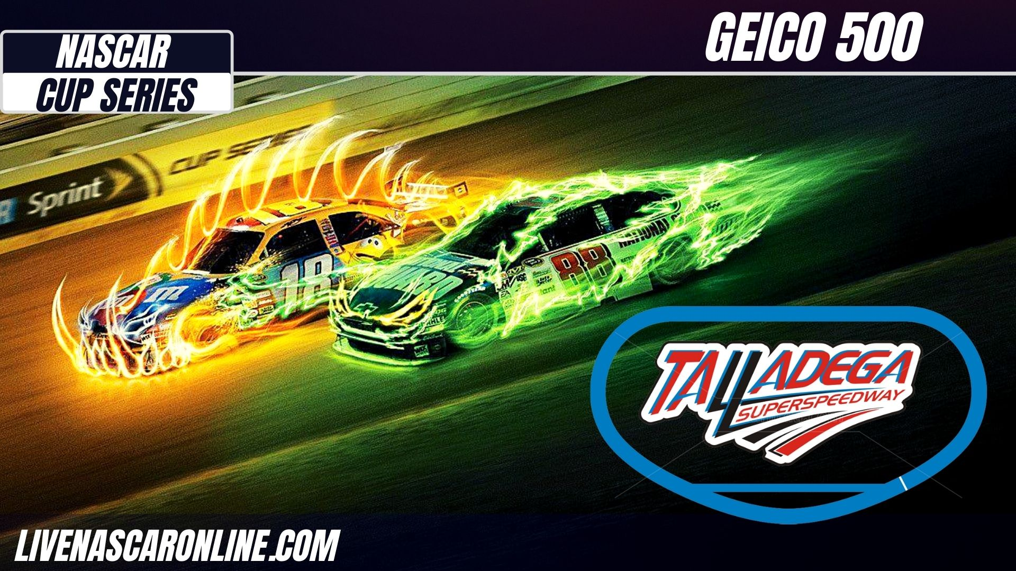 GEICO 500 at Talladega Live Stream 2021