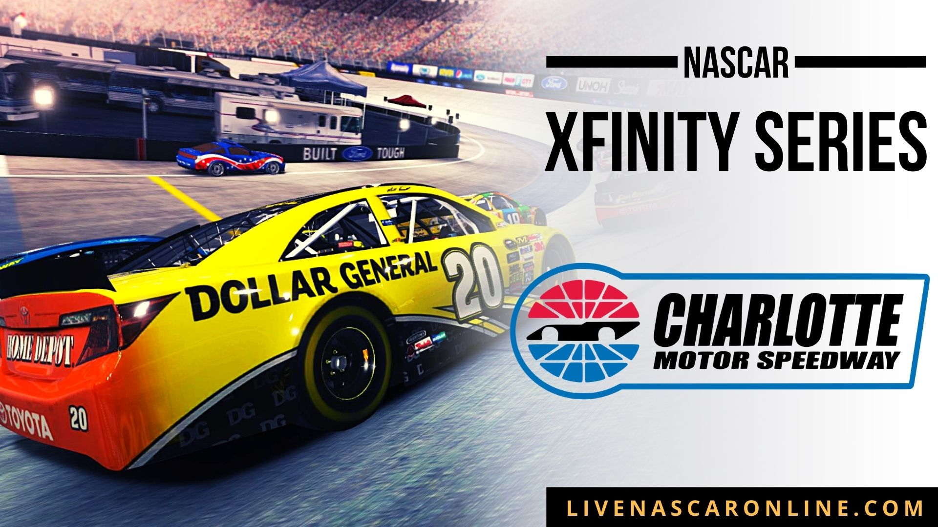 NASCAR  Xfinity Race at Charlotte Live Stream 2021