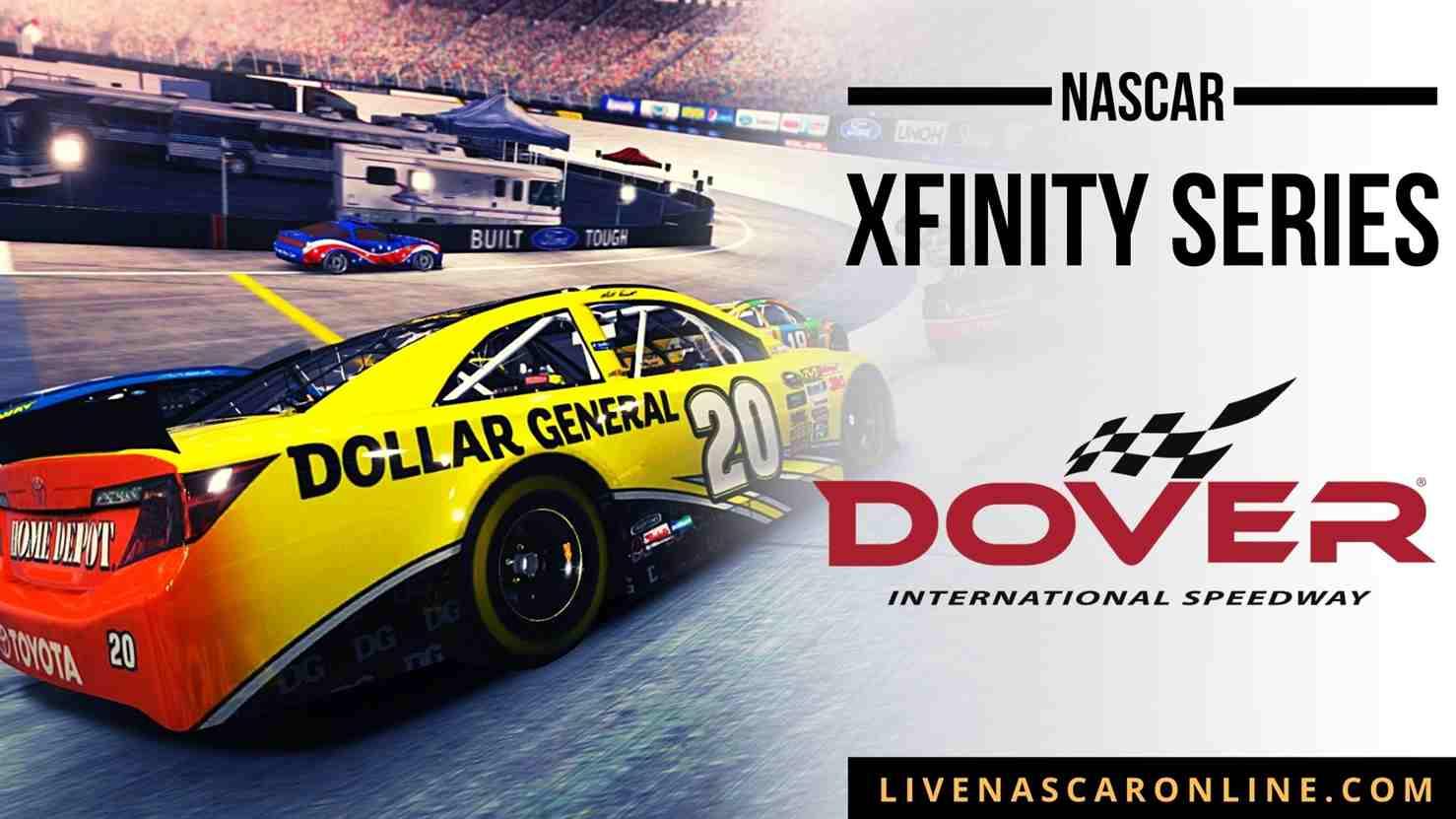 NASCAR  Xfinity Race at Dover Live Stream 2021