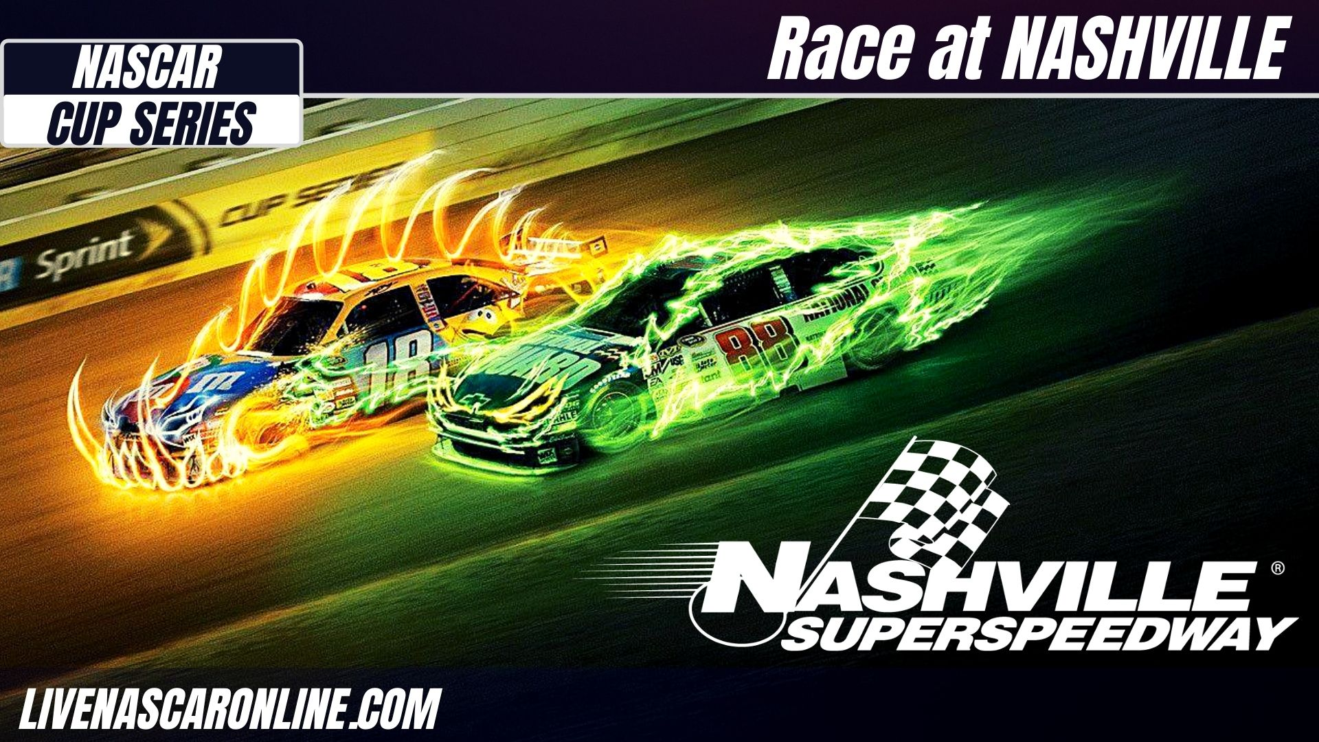 NASCAR Cup Race at Nashville Live Stream 2021