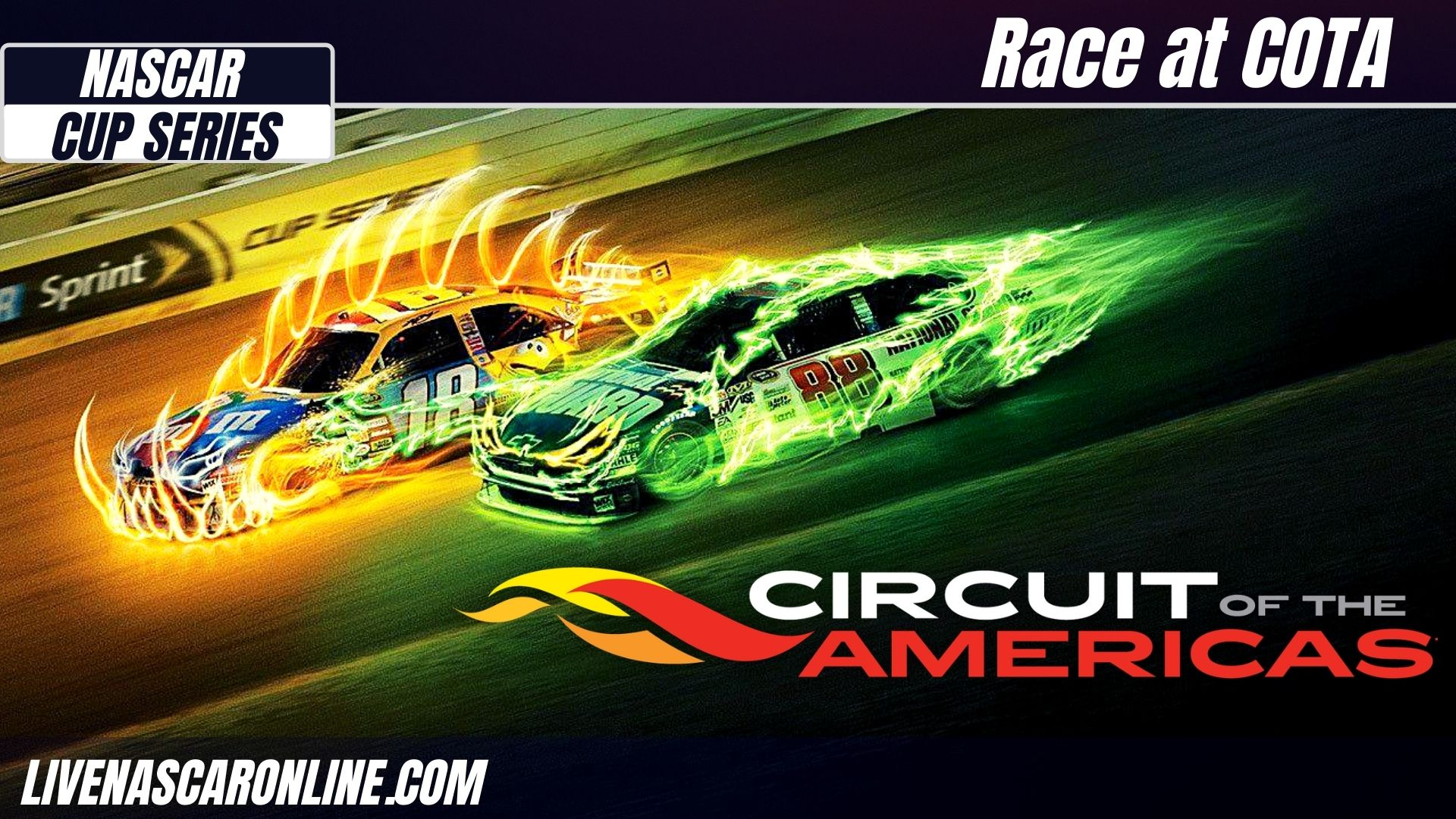 NASCAR Cup Series Race at COTA Live Stream 2021