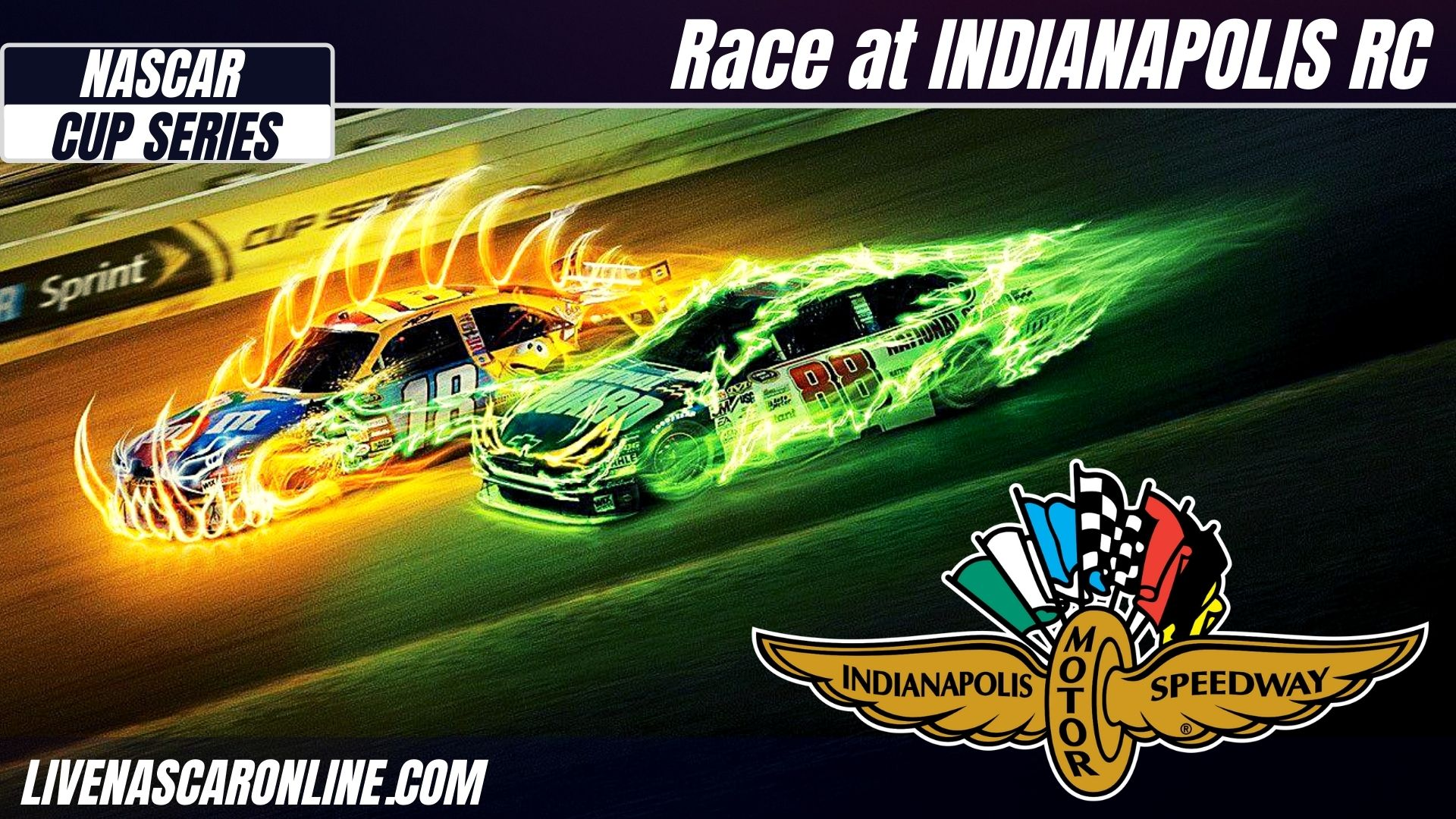 NASCAR Race at Indianapolis RC Live Stream 2021