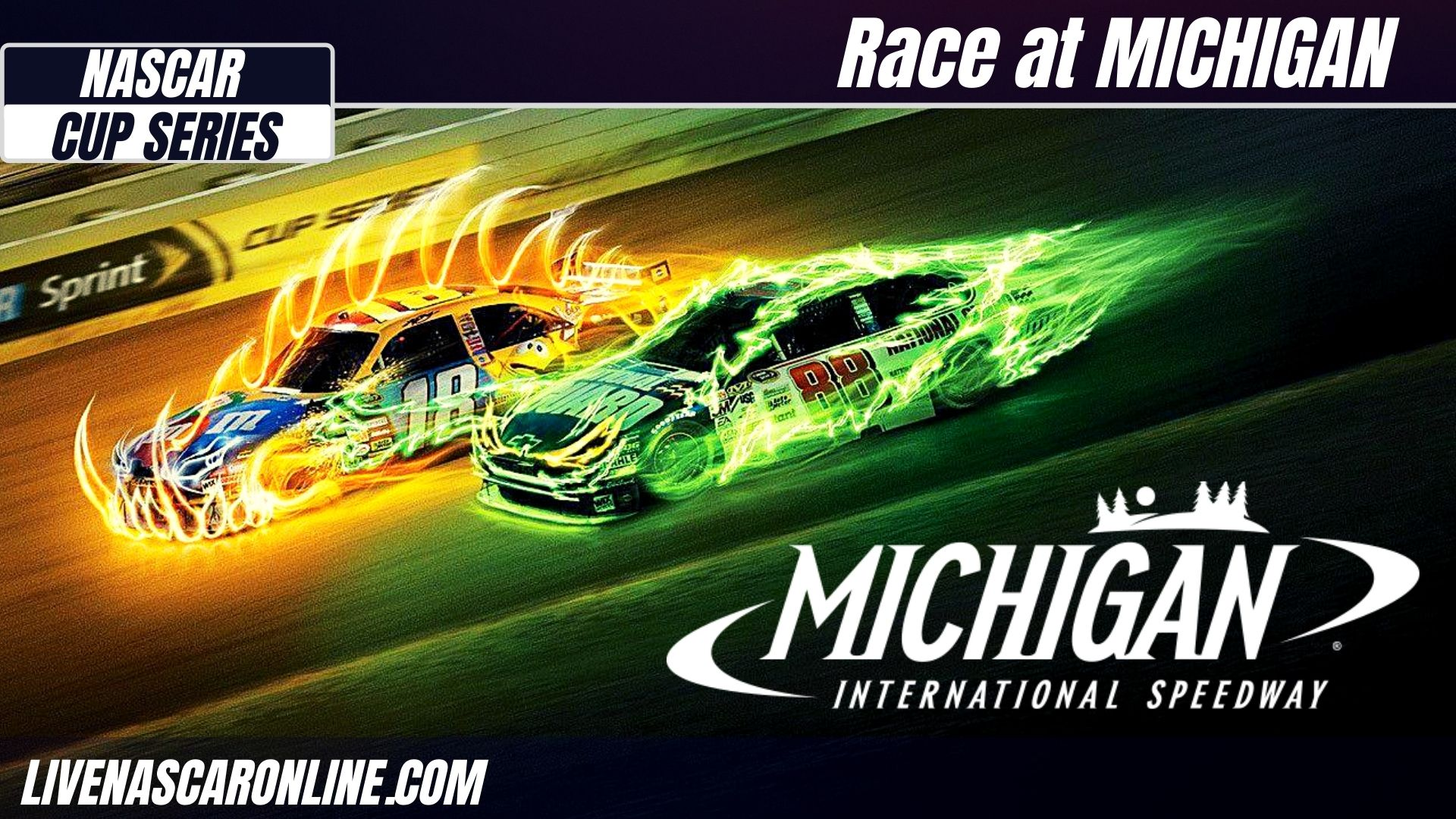 NASCAR Race at Michigan Live Stream 2021