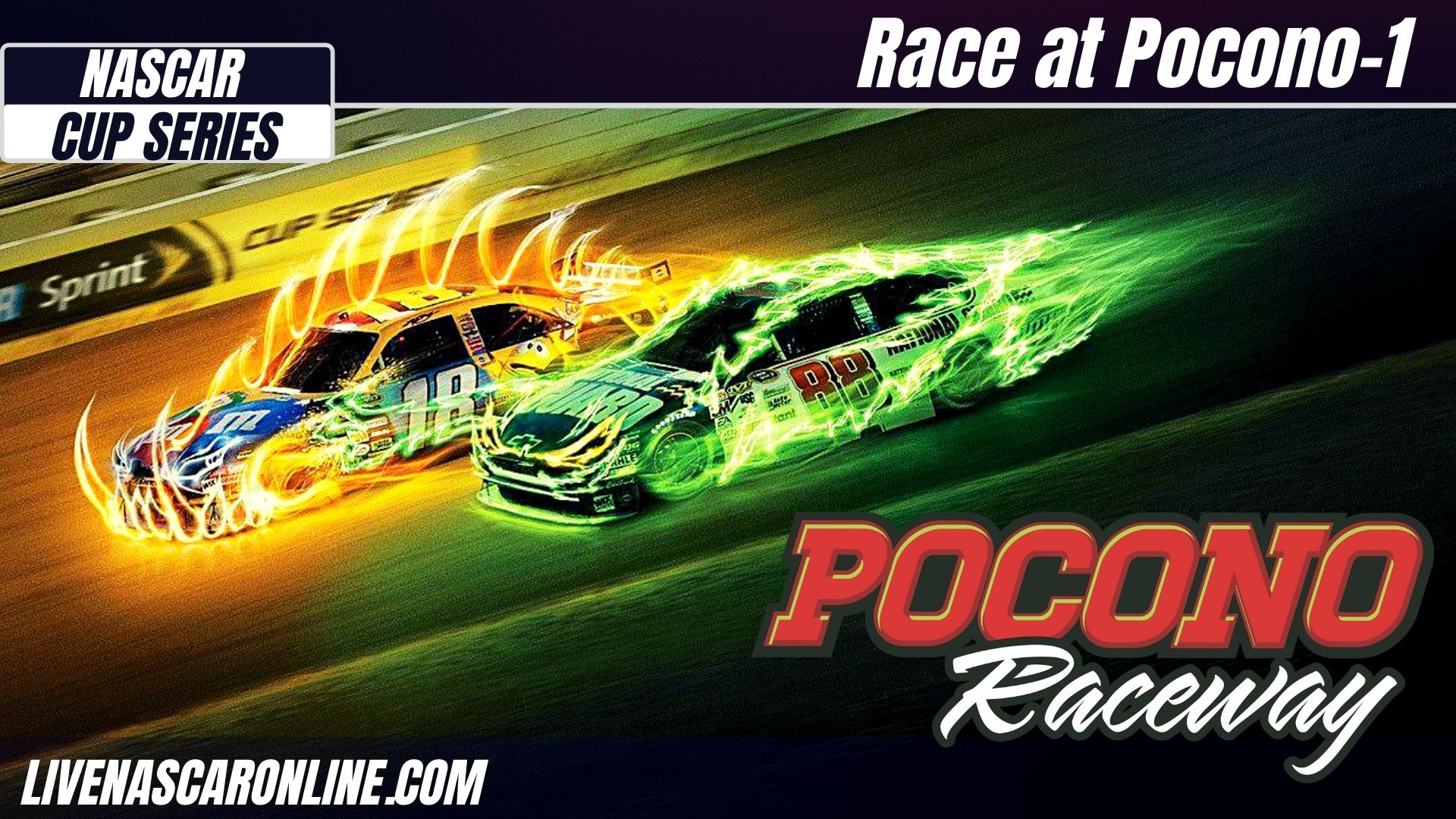 NASCAR Race at Pocono-1 Live Stream 2021