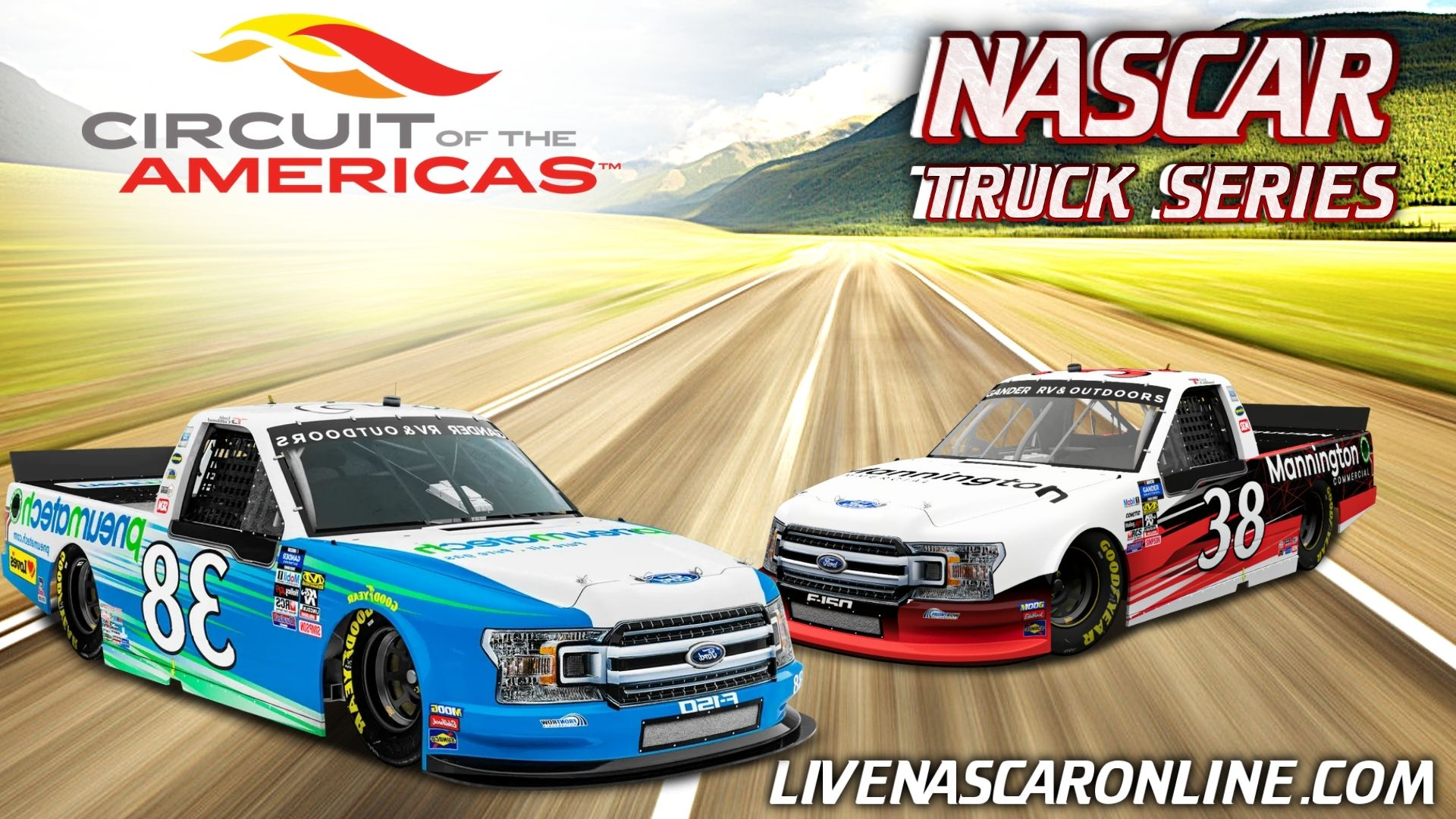 NASCAR Truck Race at COTA Live Stream 2021