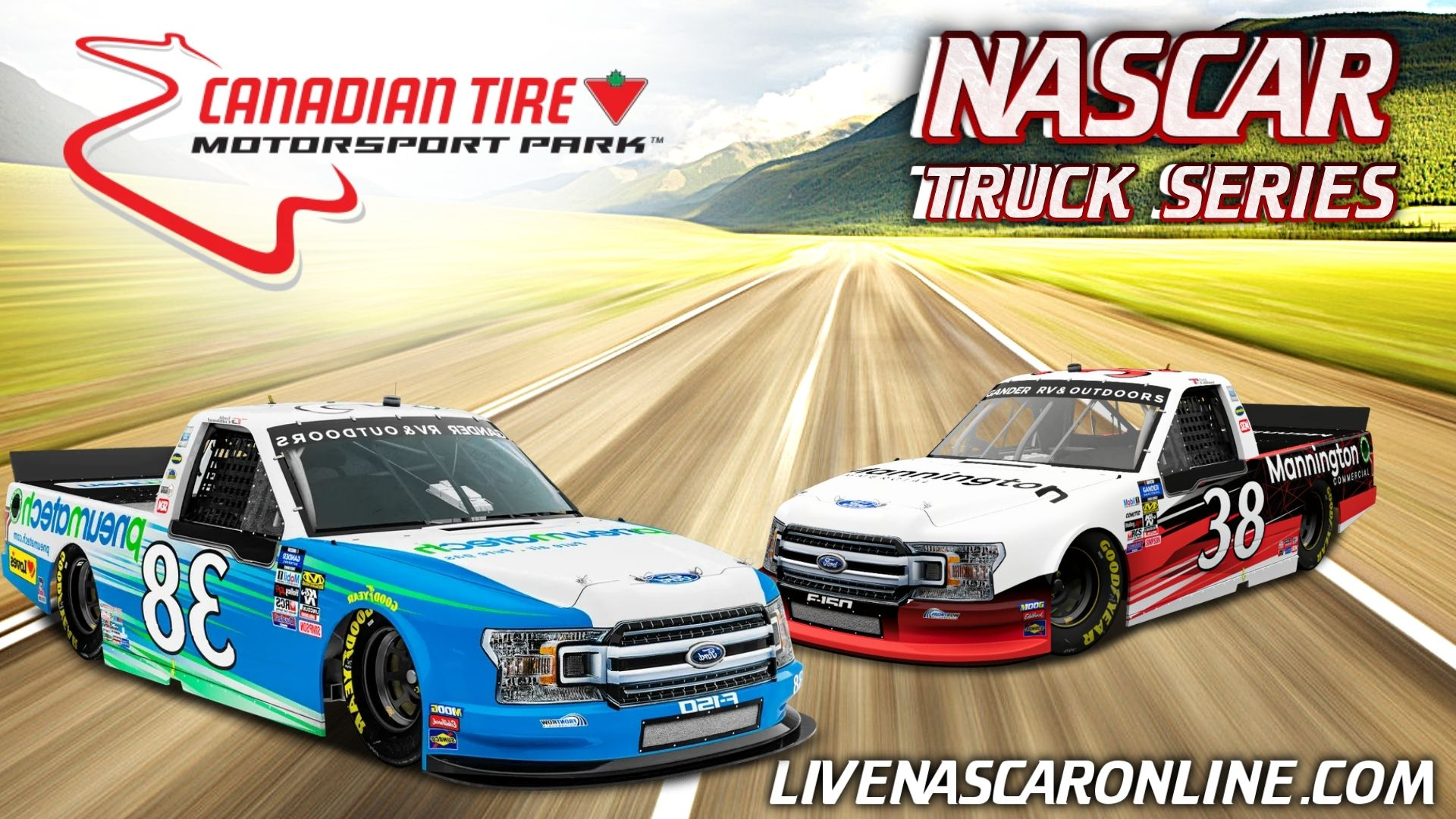 NASCAR Truck Race at CTMP Live Stream 2021