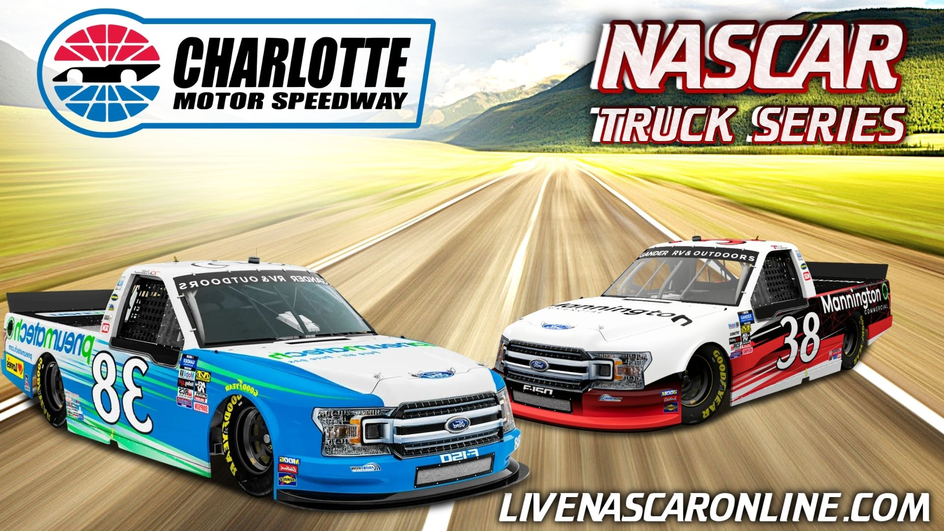NASCAR Truck Race at Charlotte Live Stream 2021