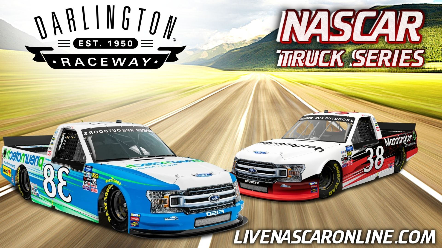 NASCAR Truck Race at Darlington Live Stream 2021
