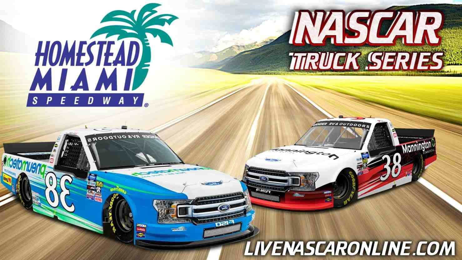 NASCAR Truck Race at Homestead-Miami Live Stream 2021