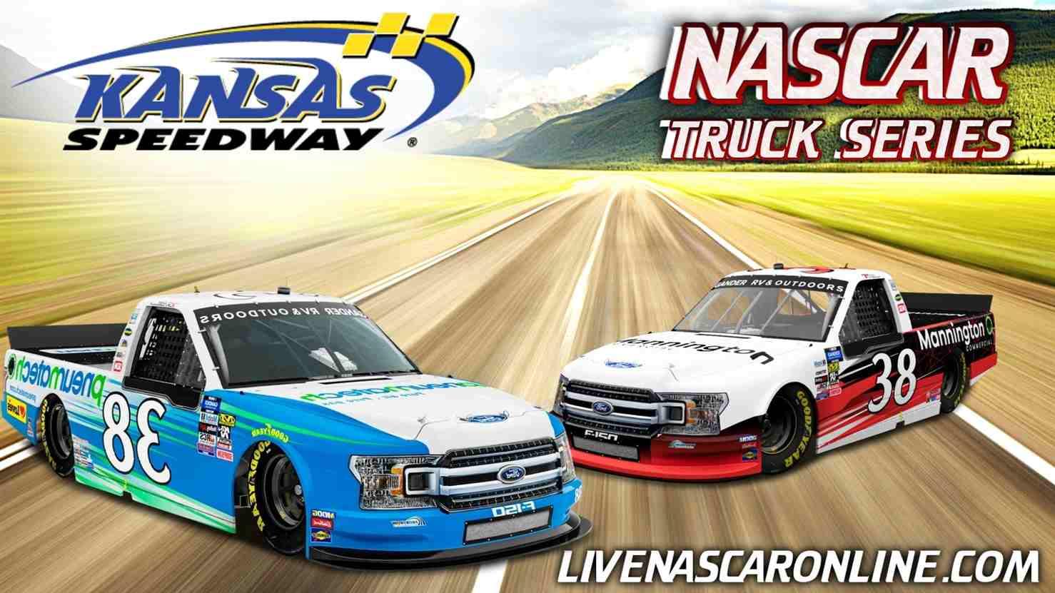 NASCAR Truck Race at Kansas Live Stream 2021