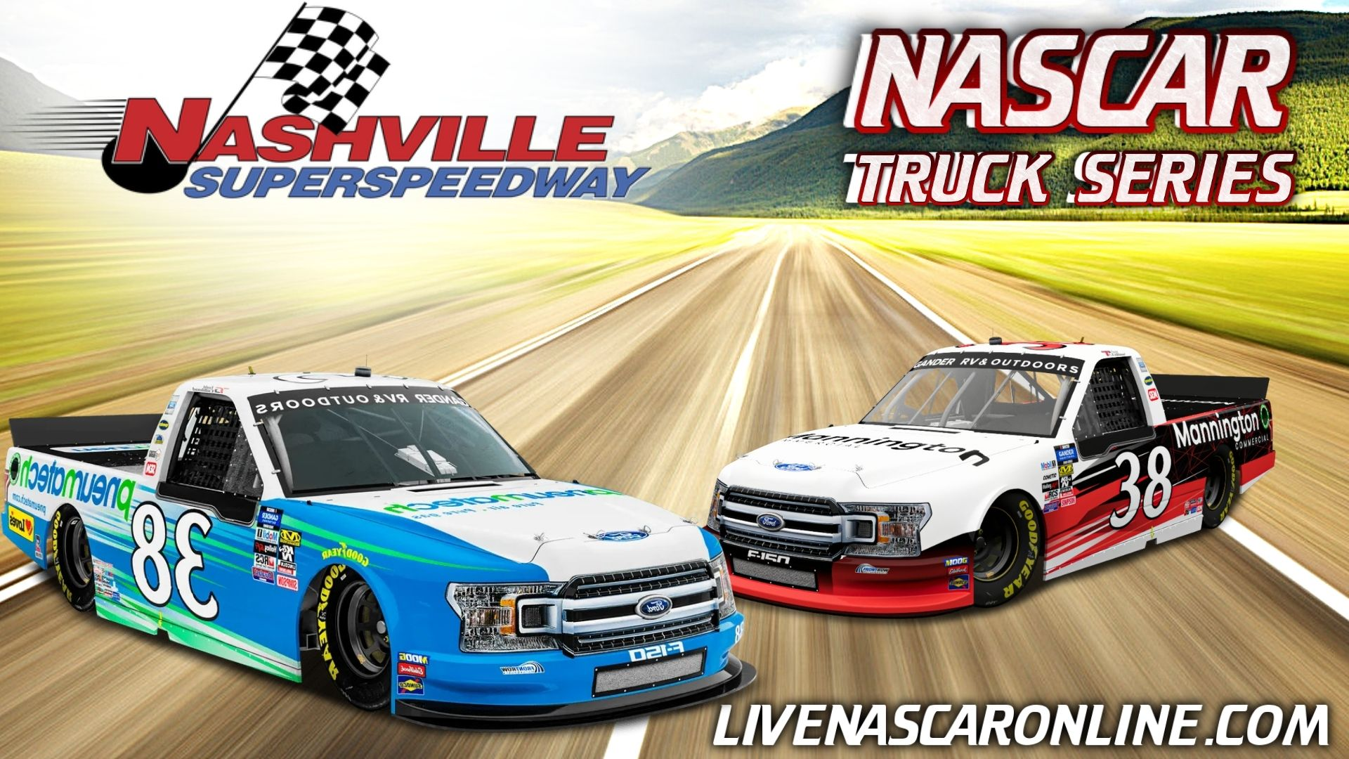 NASCAR Truck Race at Nashville Live Stream 2021