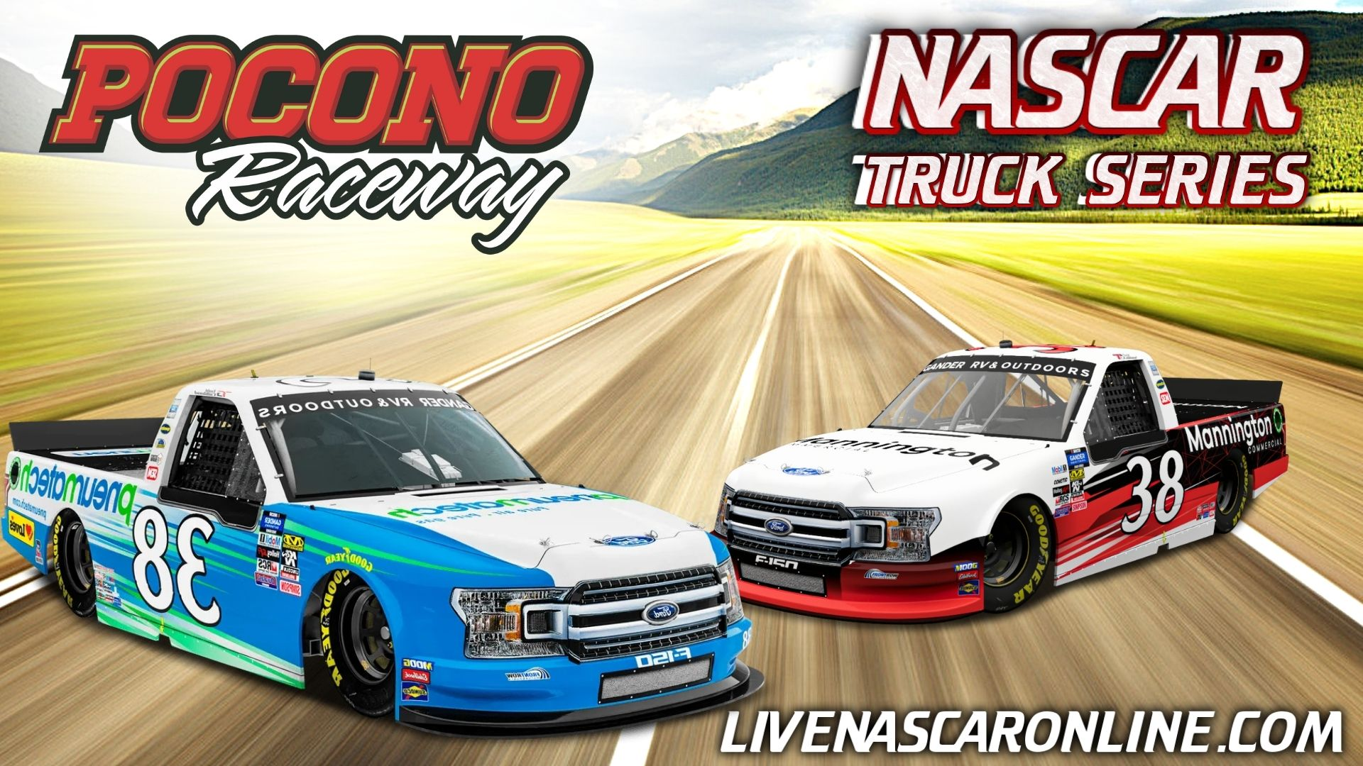 NASCAR Truck Race at Pocono Live Stream 2021