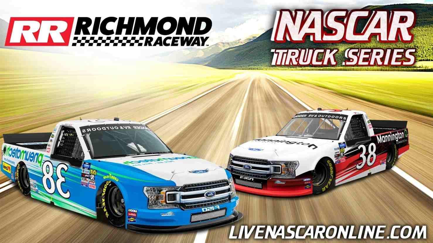 NASCAR Truck Race at Richmond Live Stream 2021