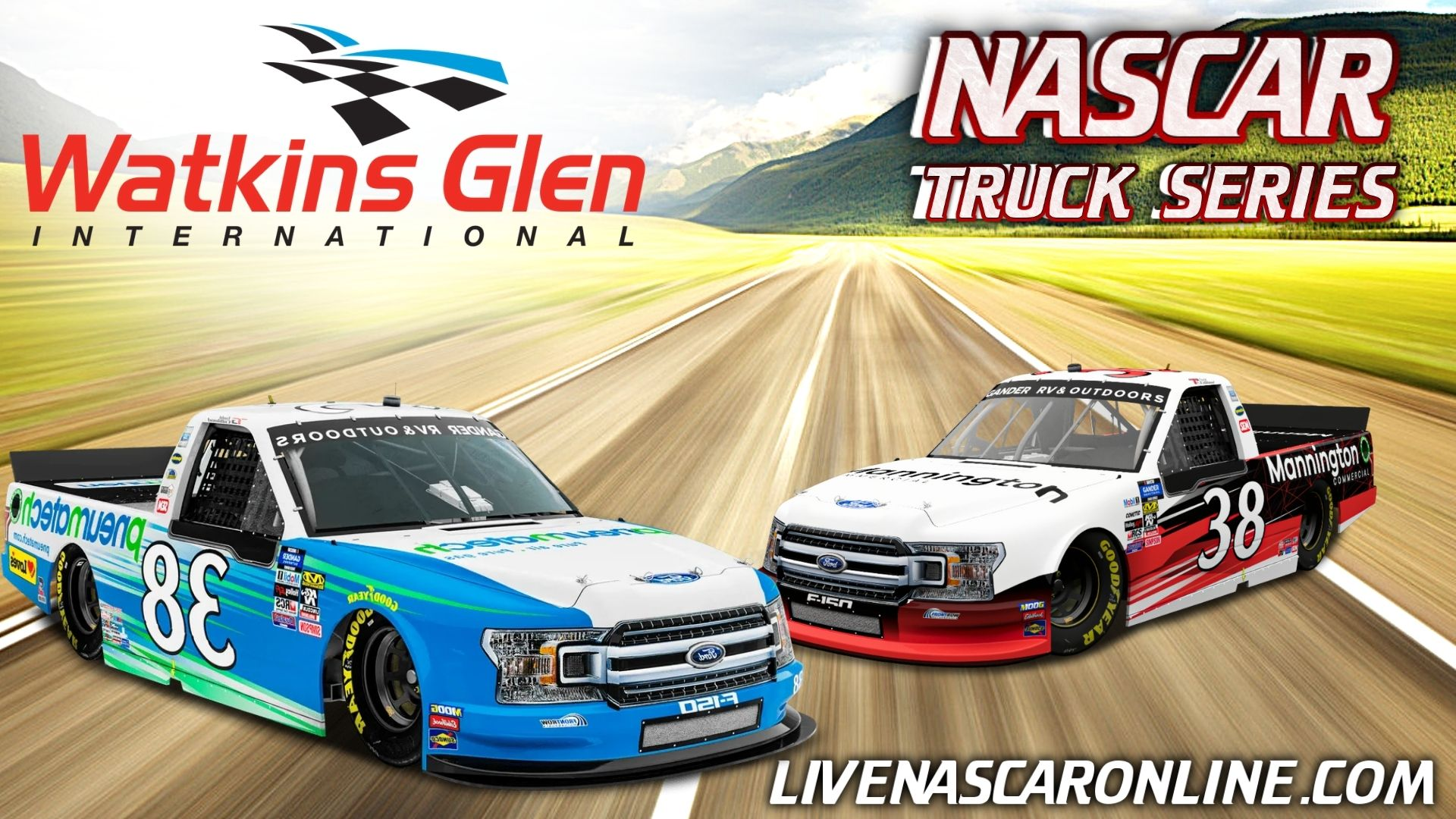 NASCAR Truck Race at Watkins Glen Live Stream 2021