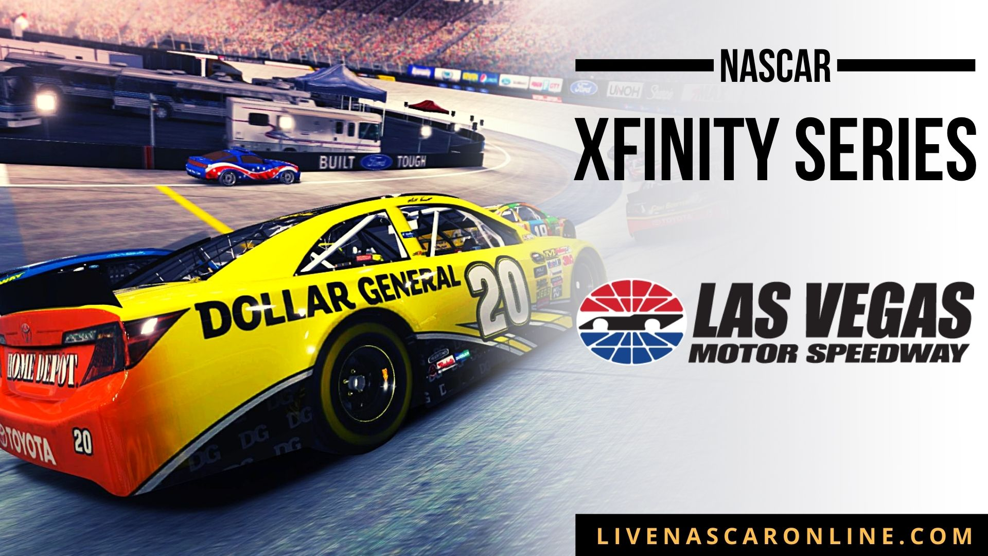 NASCAR Xfinity Playoff Race at Las Vegas Live Stream 2021