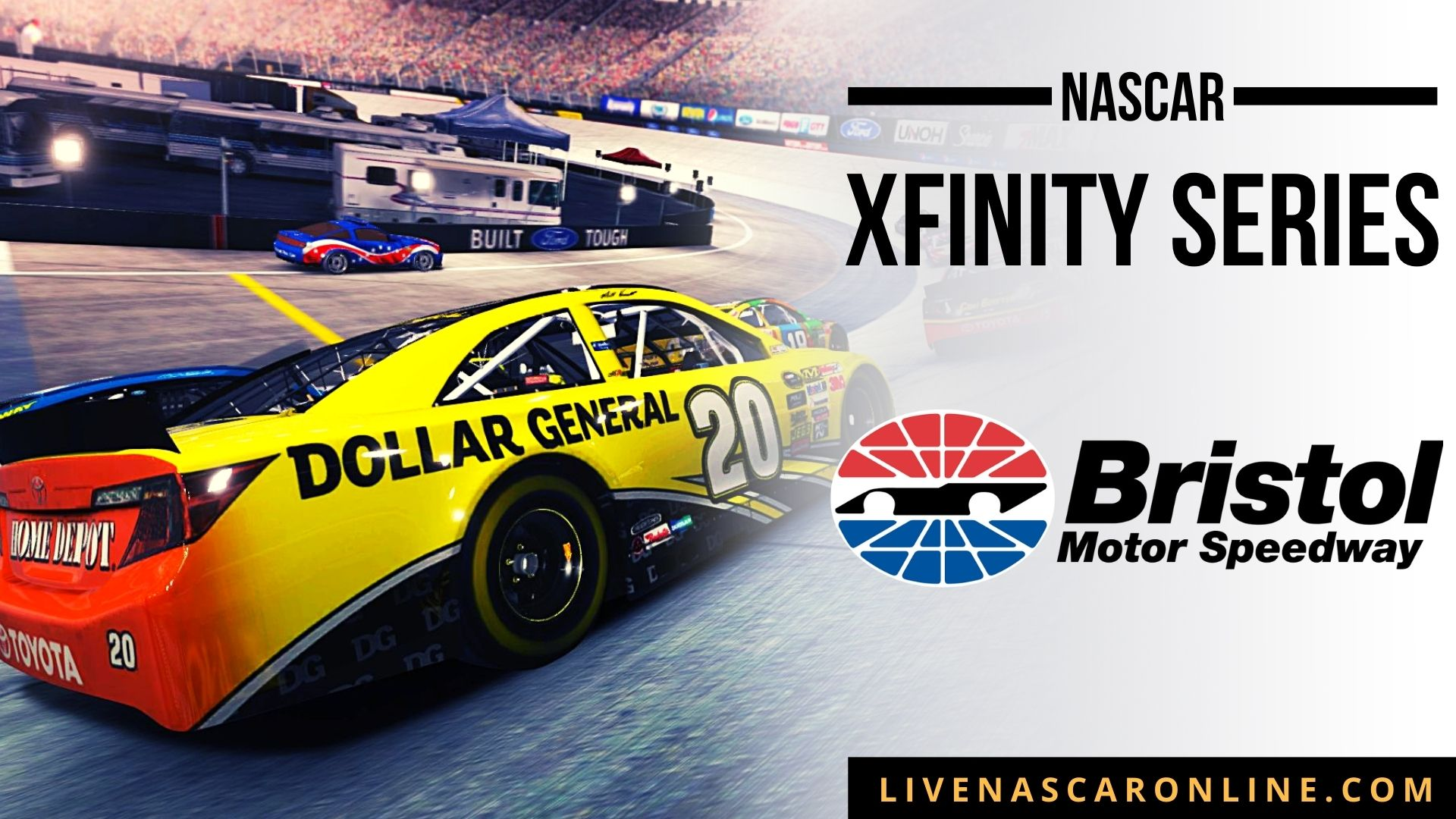 NASCAR Xfinity Race at Bristol Live Stream 2021