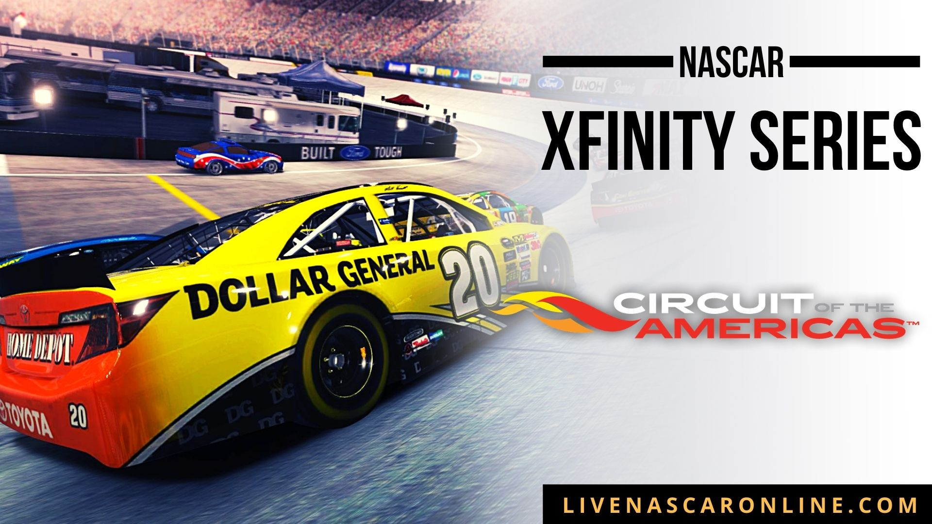 NASCAR Xfinity Race at COTA Live Stream 2021