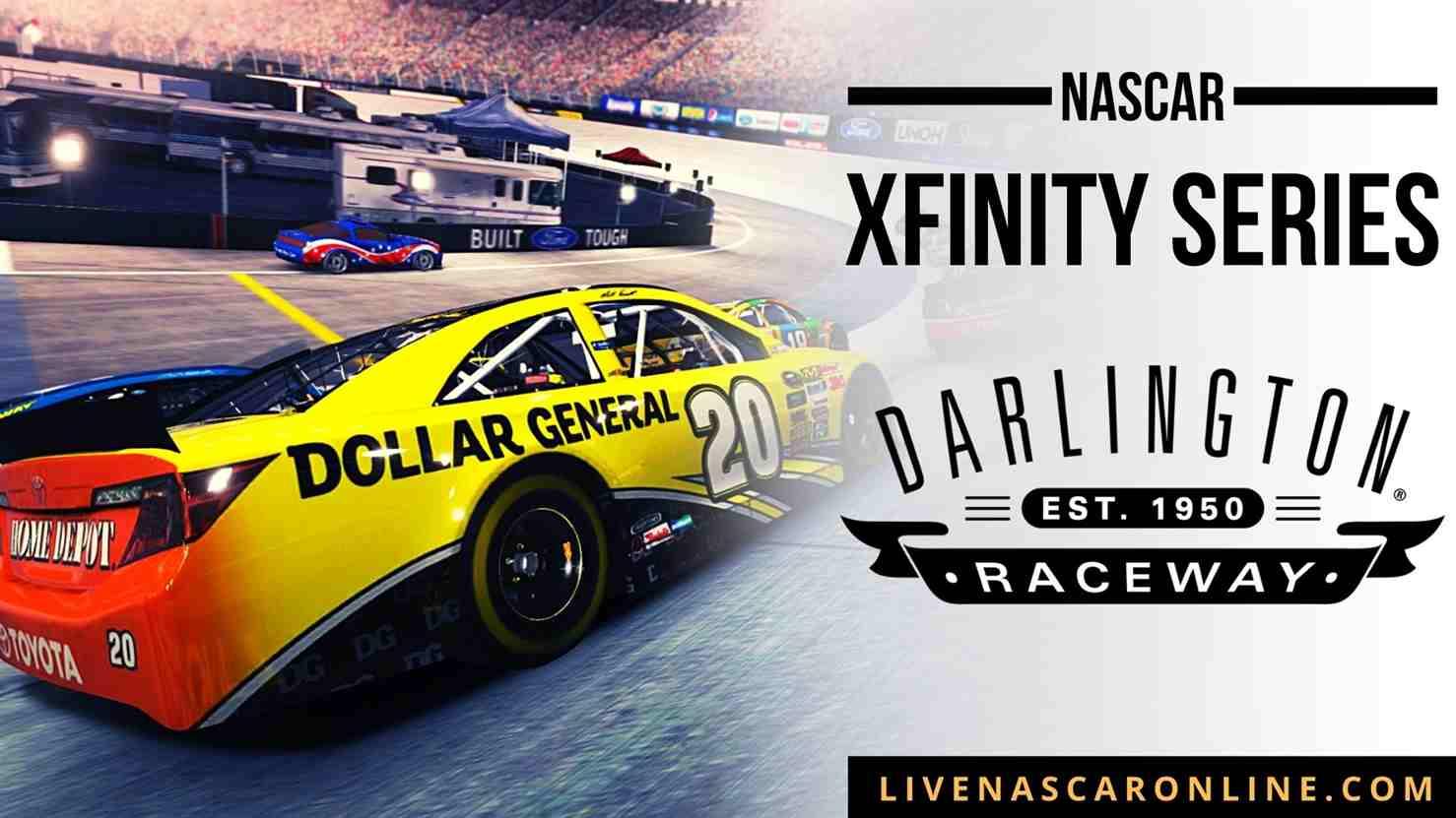 NASCAR Xfinity Race at Darlington Live Stream 2021
