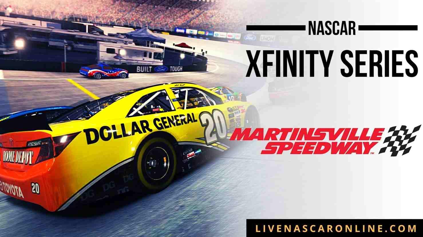 NASCAR Xfinity Race at Martinsville Live Stream 2021