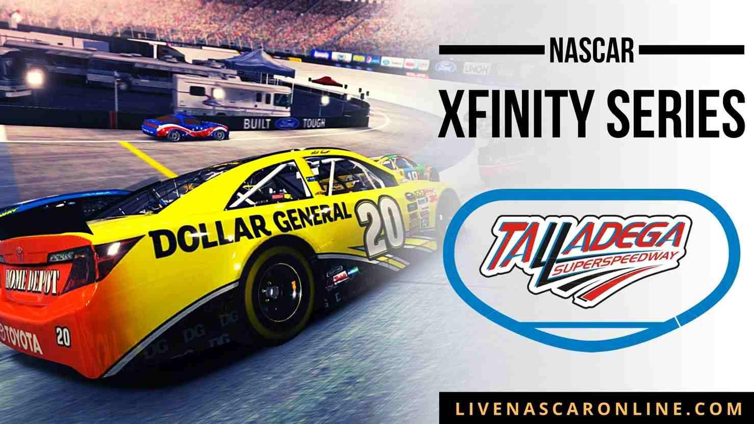 NASCAR Xfinity Race at Talladega Live Stream 2021