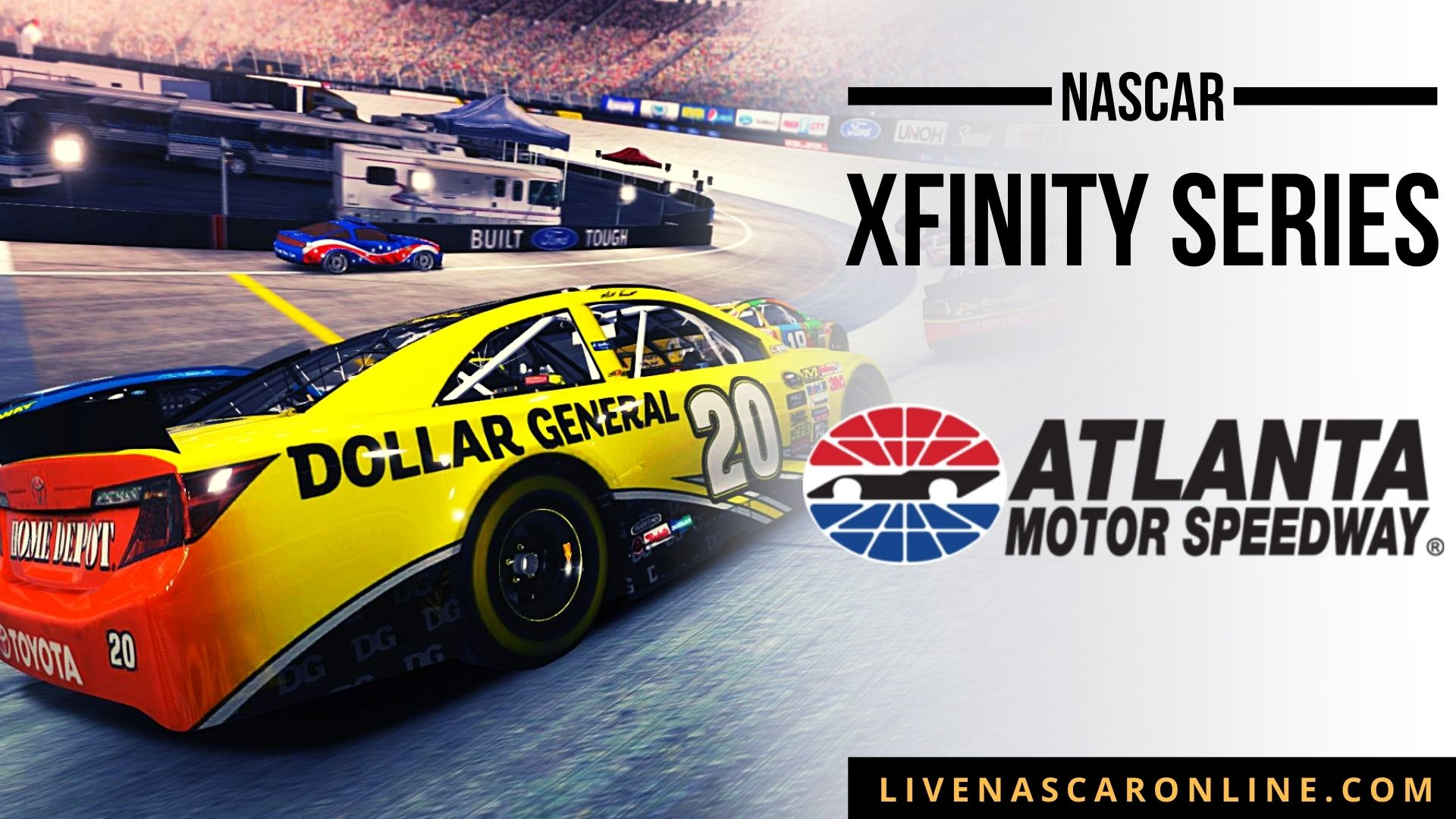 NASCAR Xfinity Race at Atlanta Live Stream 2021