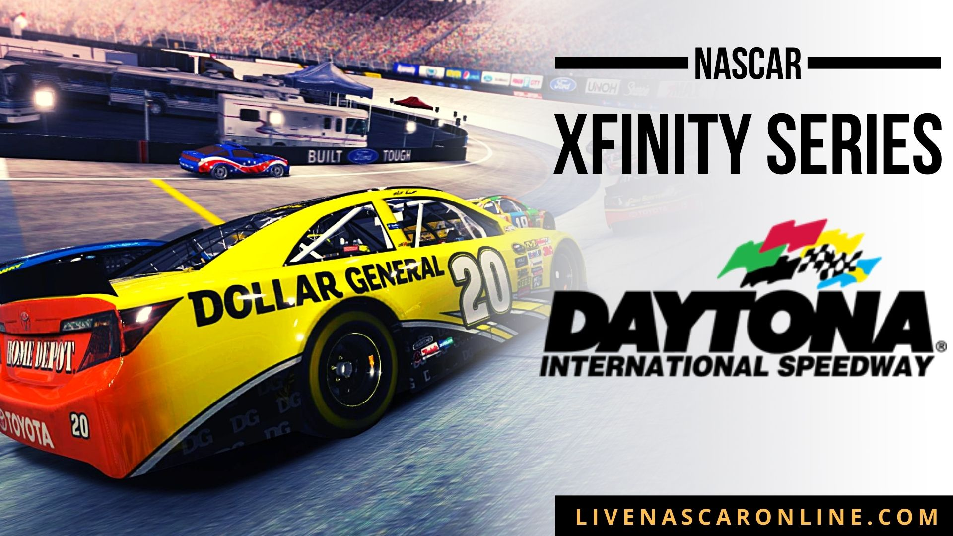 NASCAR Xfinity Race at Daytona Live Stream 2021