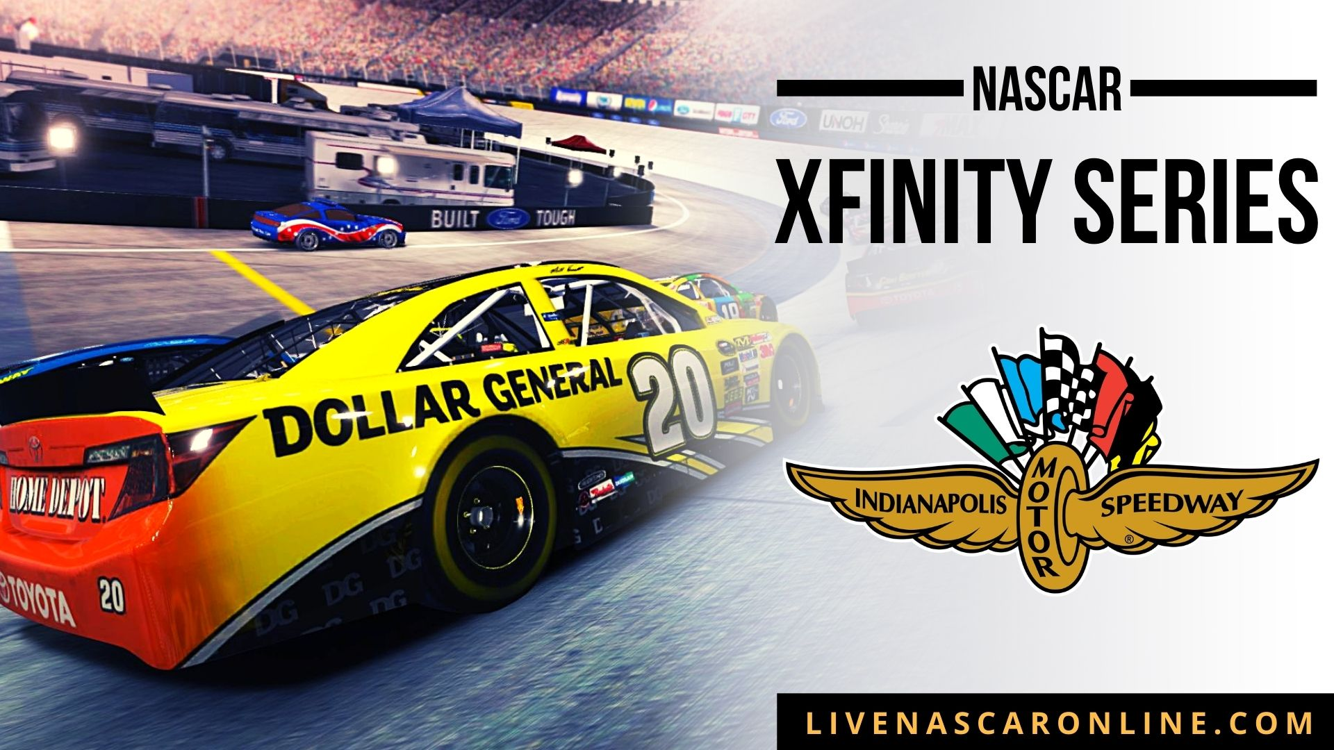 NASCAR Xfinity Race at Indianapolis RC Live Stream 2021
