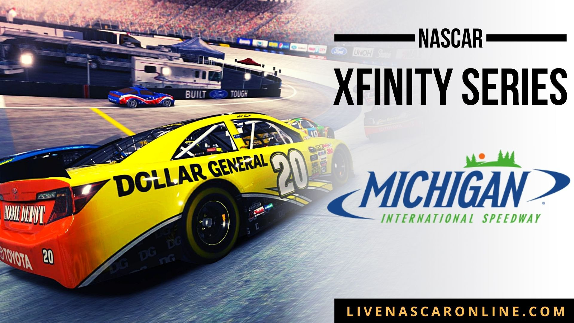 NASCAR Xfinity Race at Michigan Live Stream 2021
