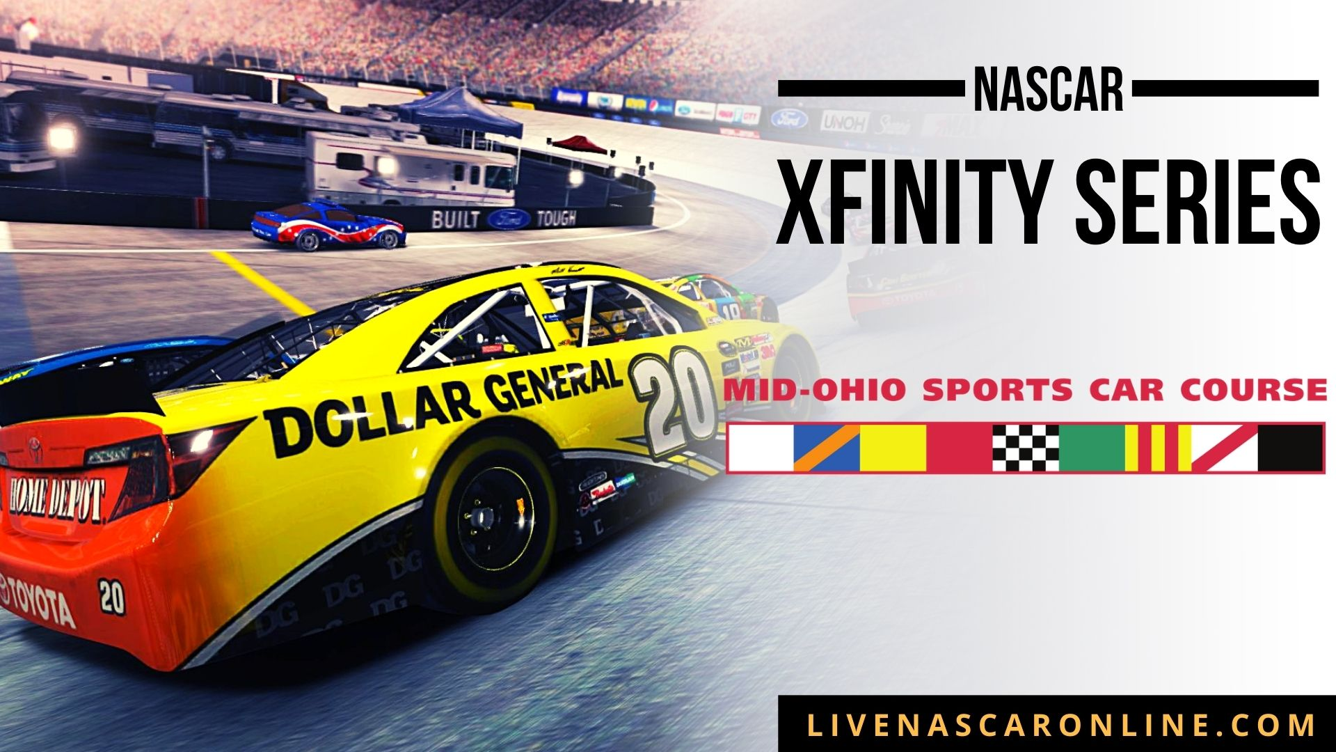 NASCAR Xfinity Race at Mid-Ohio Live Stream 2021