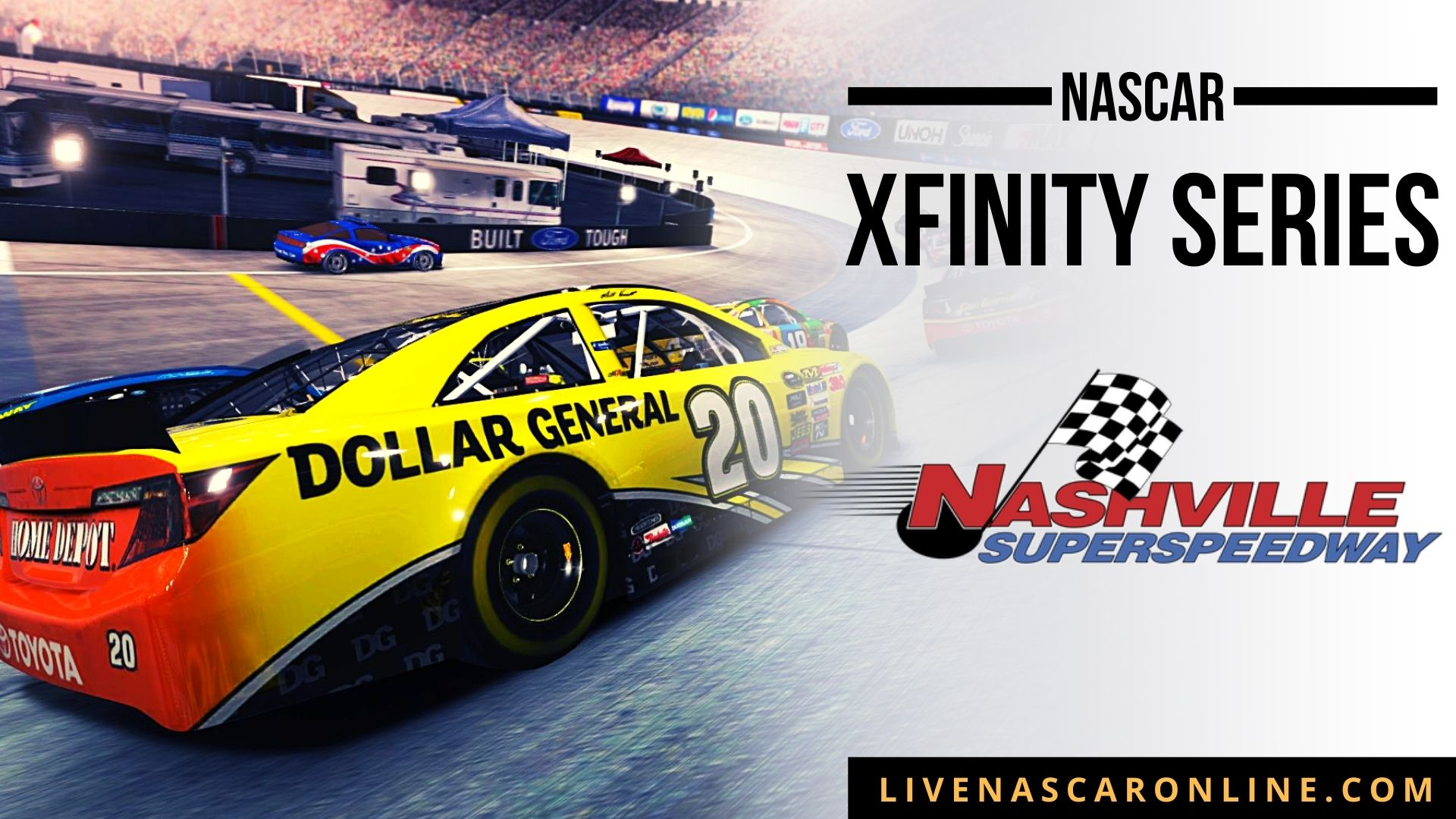 NASCAR Xfinity Race at Nashville Live Stream 2021