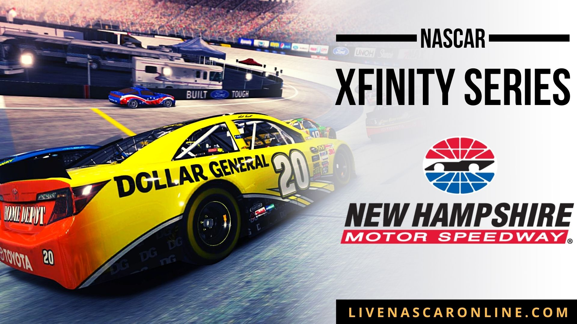 NASCAR Xfinity Race at New Hampshire Live Stream 2021