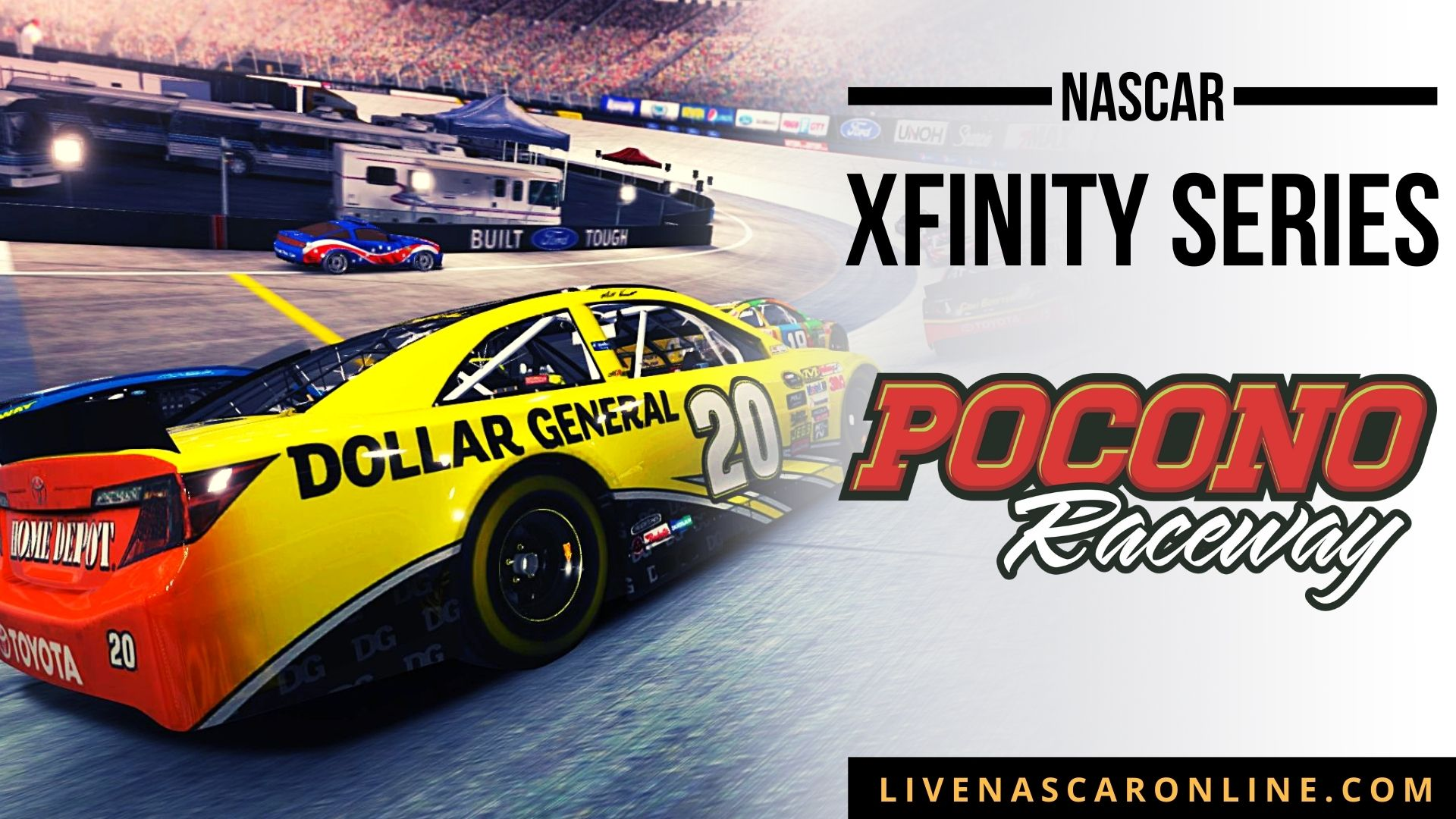 NASCAR Xfinity Race at Pocono Live Stream 2021