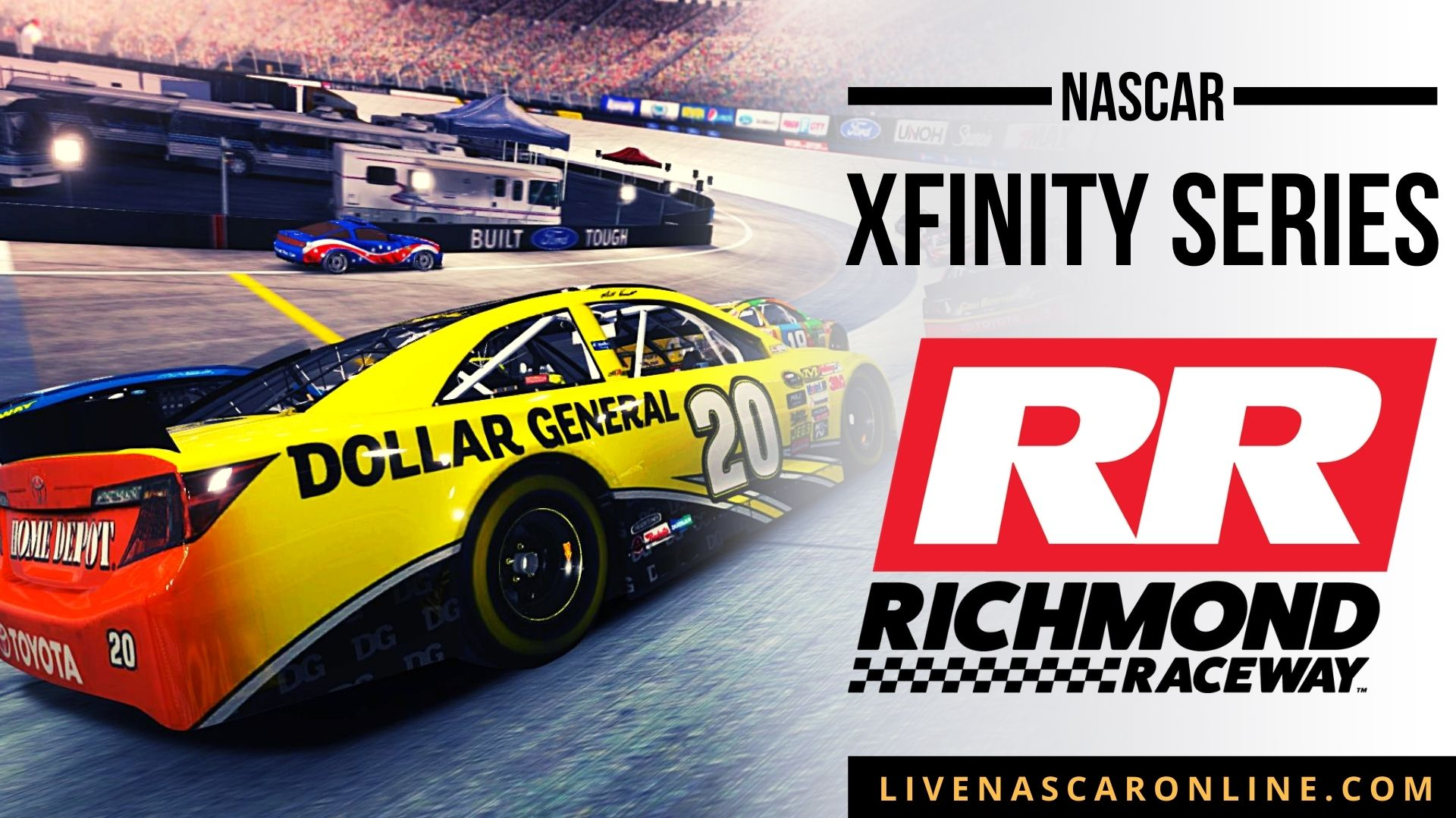 NASCAR Xfinity Race at Richmond Live Stream 2021