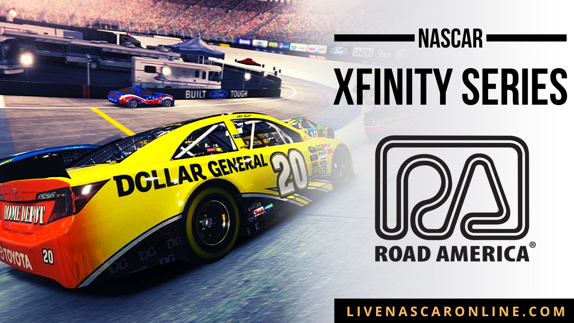 NASCAR Xfinity Race at Road America Live Stream 2021