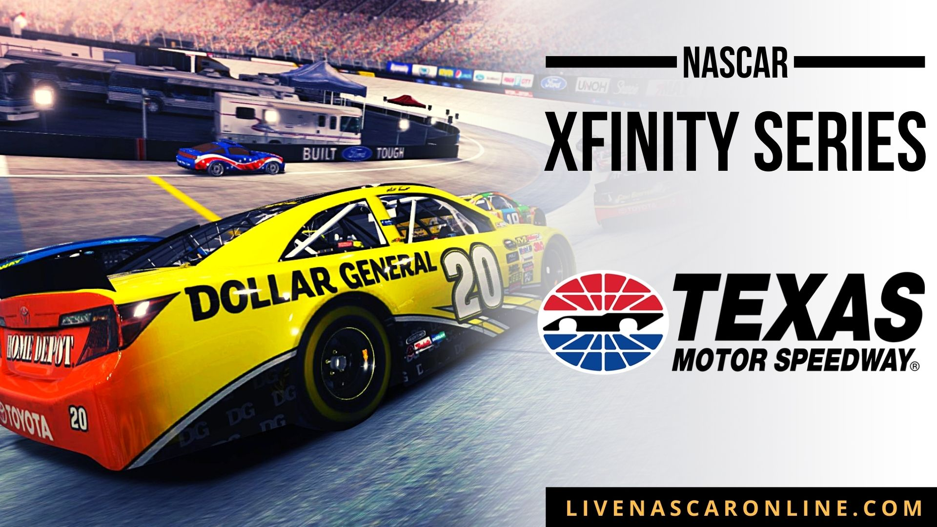 NASCAR Xfinity Race at Texas Live Stream 2021