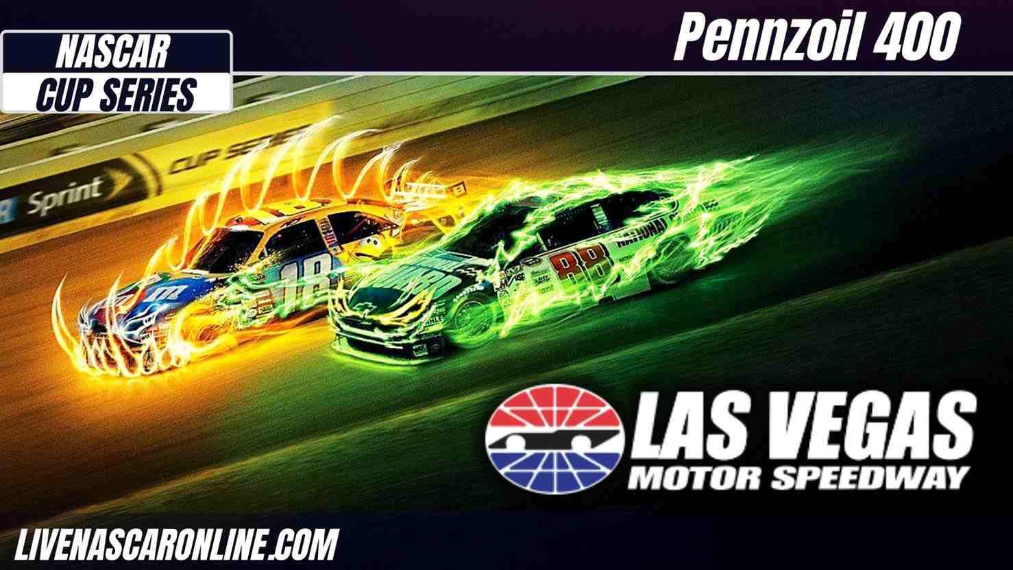 Pennzoil 400 at Las Vegas Live Stream 2021