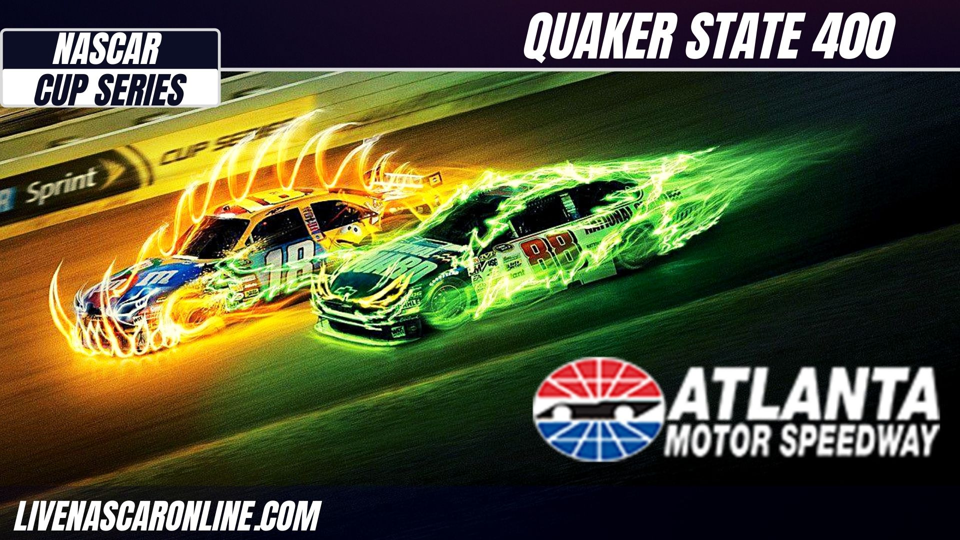 Quaker State 400 at Atlanta Live Stream 2021