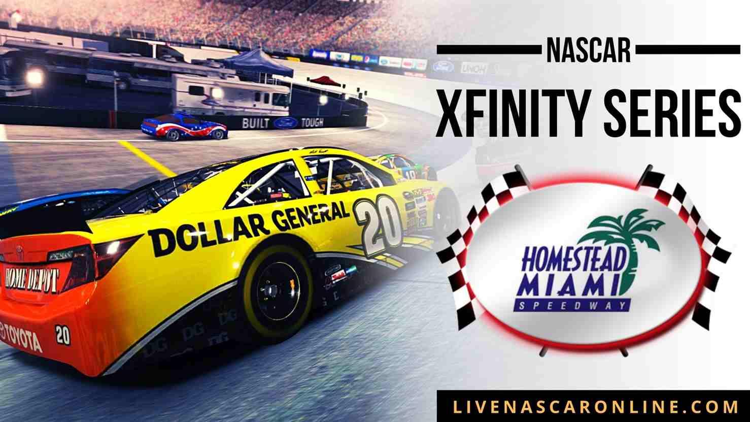 Race at Homestead-Miami Live Stream 2021