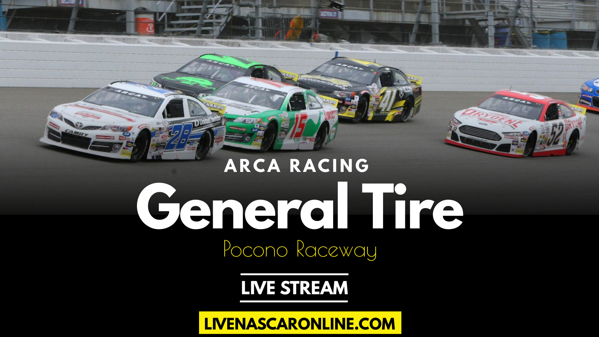 ARCA General Tire #AnywhereIsPossible 200 Live Stream 2021