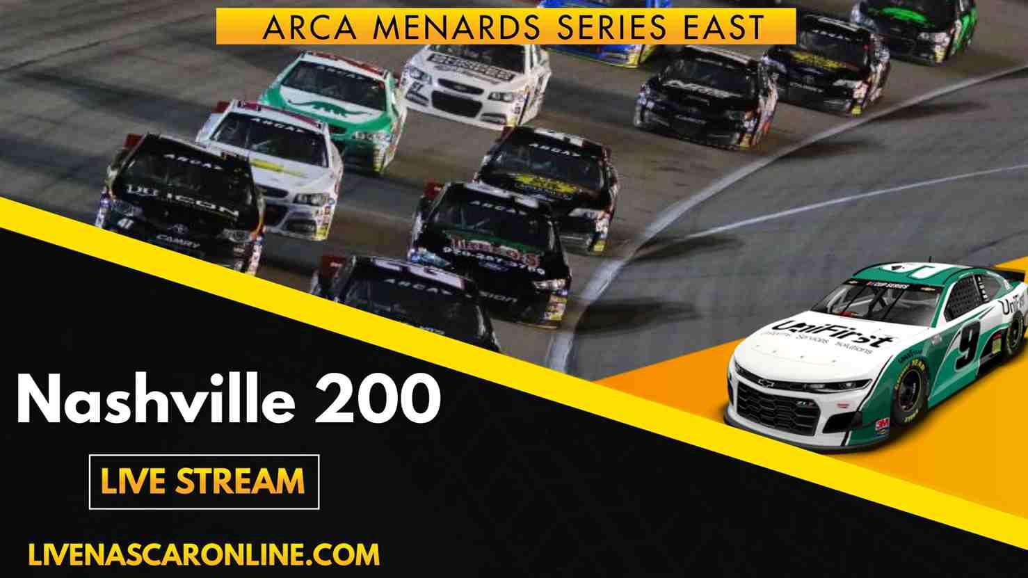 ARCA Nashville 200 Live Stream 2021