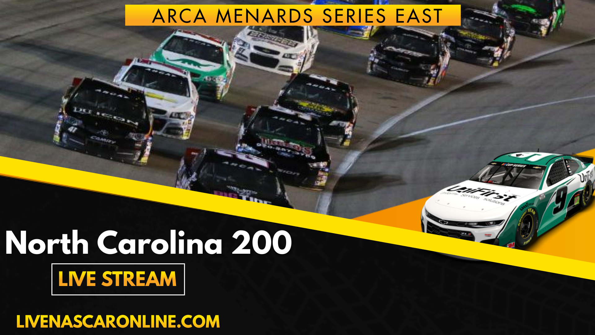 ARCA North Carolina 200 Live Stream 2021