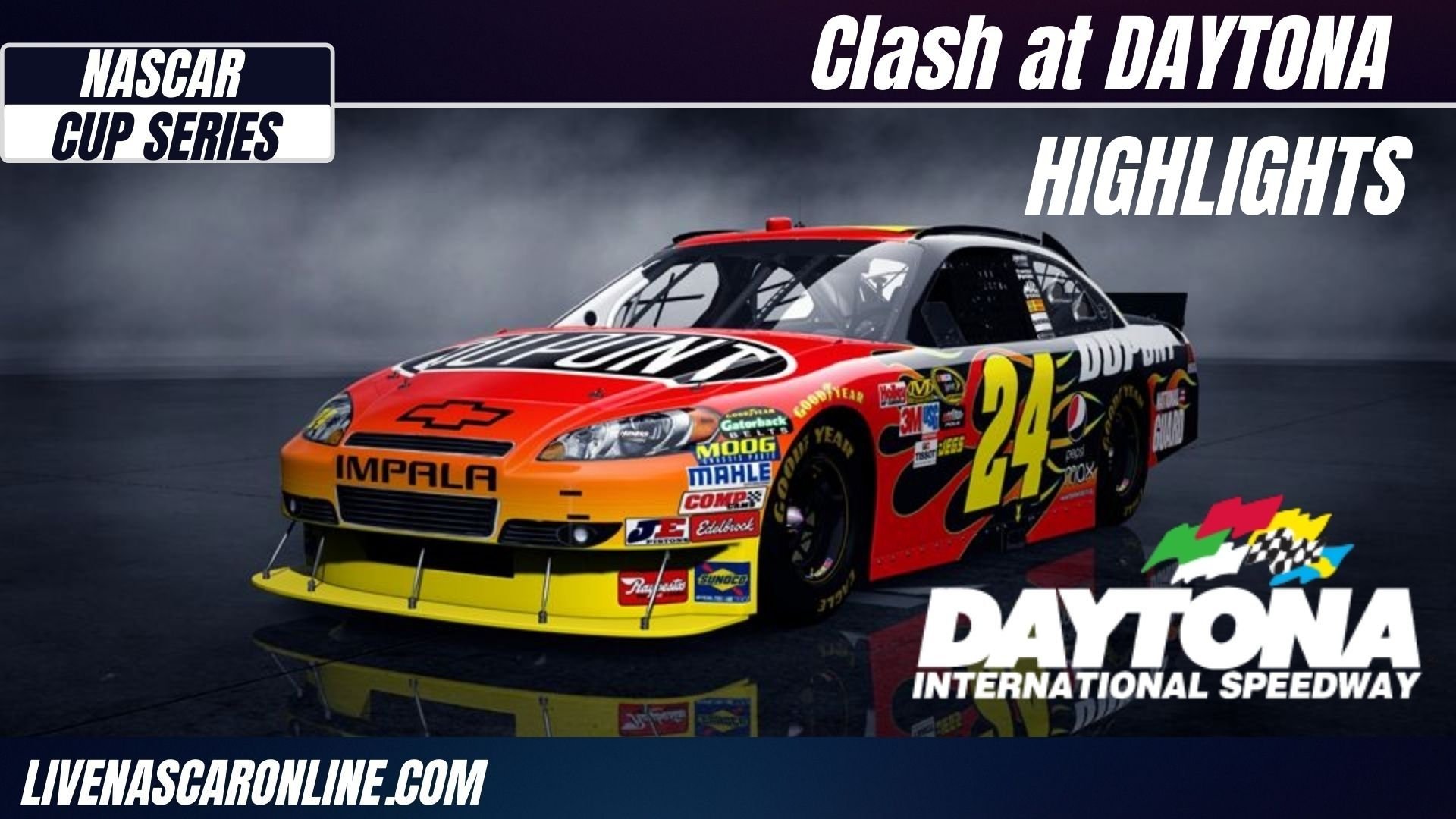 Clash At Daytona Highlights 2021 Cup Series