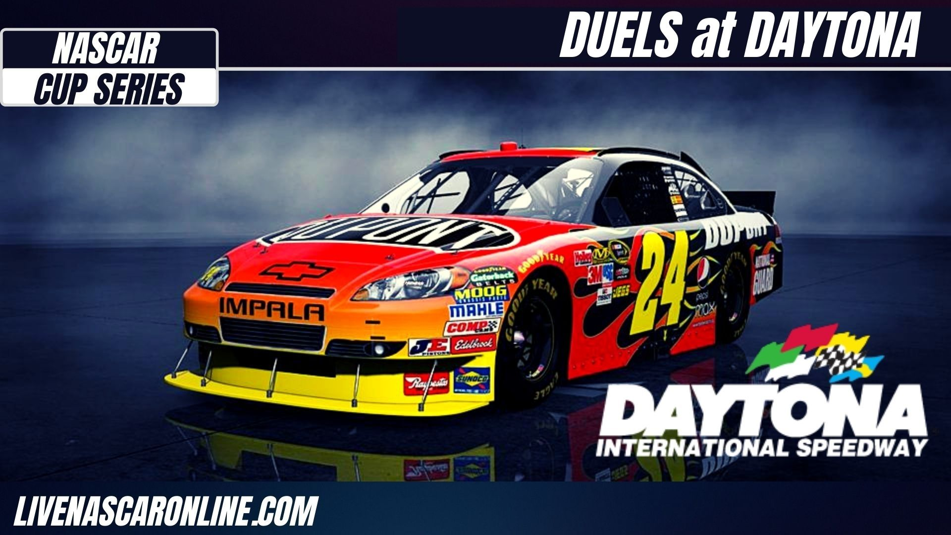 Duel 1 At Daytona Highlights 2021 Nascar Cup Series
