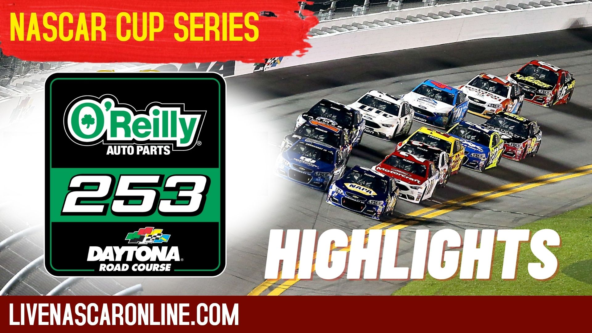 O Reilly Auto Parts 253 Highlights 2021 Nascar Cup Series
